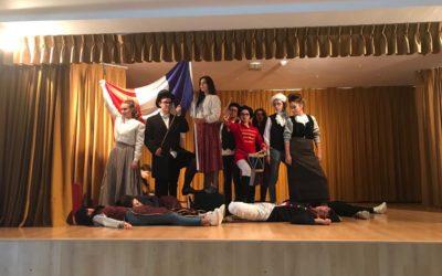 ¡La Revolución francesa en nuestro colegio!